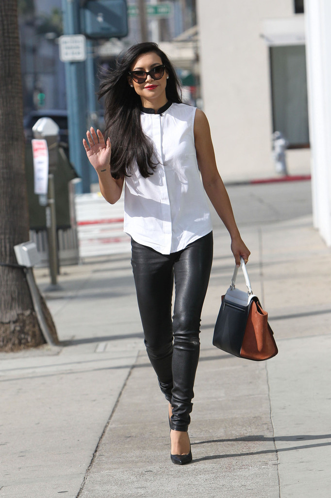 Naya Rivera Out in LA