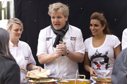 Gordon Ramsay and Shobna Gulati Photo