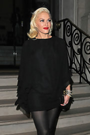Gwen got creative with this Halloween-esque LBD!