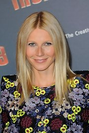Gwyneth Paltrow's nude lip was a natural and lovely choice for the actress.