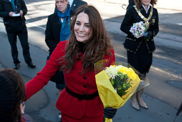 Kate+Middleton in Prince William and Kate Middleton at St Andrews University 2