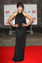 Ana Araujo looked downright divine in her black halter gown at the Shooting Stars benefit.