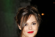 Hannah Tointon Red Lipstick