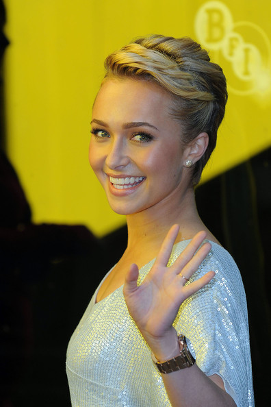 More Pics of Hayden Panettiere Gold Chronograph Watch (1 of 17) - Hayden Panettiere Lookbook - StyleBistro