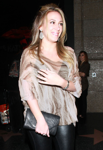 Haylie Duff Loose Blouse
