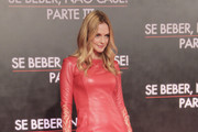 Heather Graham Leather Dress