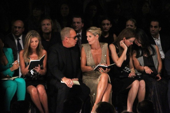 Celebs in the Front Row at Fashion Week