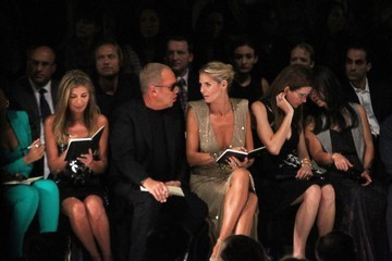 Heidi Klum Michael Kors Celebs in the Front Row at Fashion Week