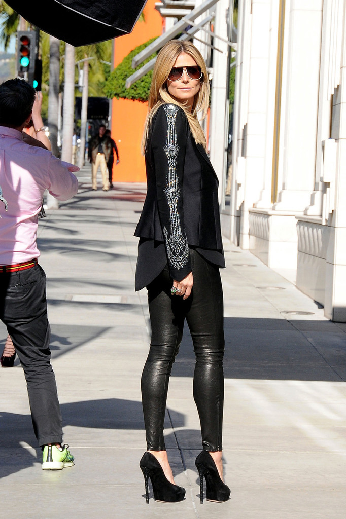 more pics of heidi klum leather pants 8 of 11 heidi