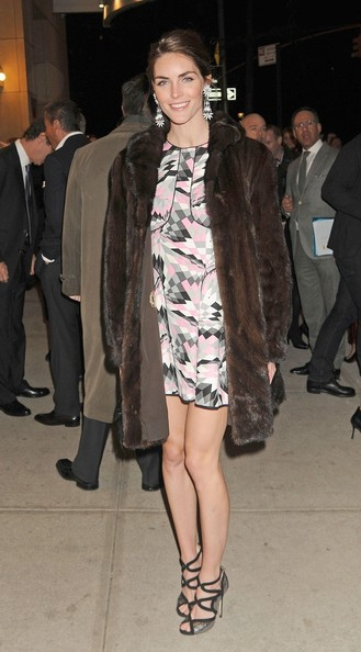 Hilary Rhoda Fur Coat