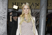 -  Sisters Paris and Nicky Hilton leaving Frida Mexican eatery with family and friends in Beverly Hills.