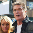 Maria Menounos and David Hasselhoff