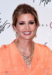 Ivanka Trump made an appearance at Lord & Taylor wearing her hair in a casual updo.