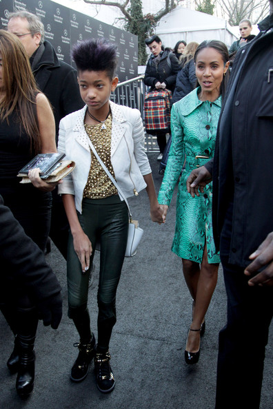 More Pics of Willow Smith Fauxhawk (1 of 7) - Willow Smith Lookbook - StyleBistro []