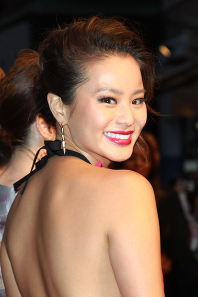 Jamie Chung Dangling Diamond Earrings