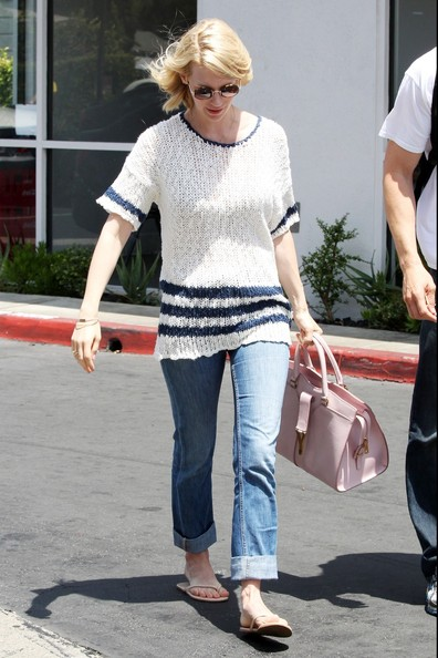 January Jones Boyfriend Jeans []