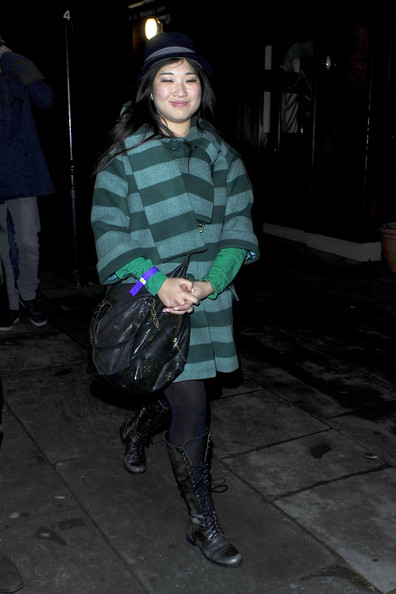 Jenna Ushkowitz Wool Coat