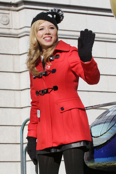Celebrities Enjoy the Annual Macy's Thanksgiving Day Parade in New York City