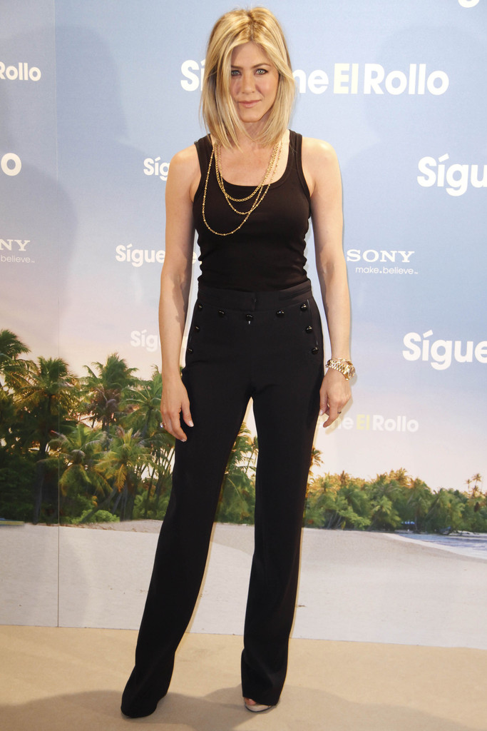 Jennifer Aniston Slacks Jennifer Aniston Looks Stylebistro