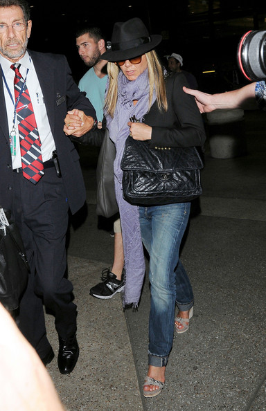 Jennifer Aniston Silk Scarf