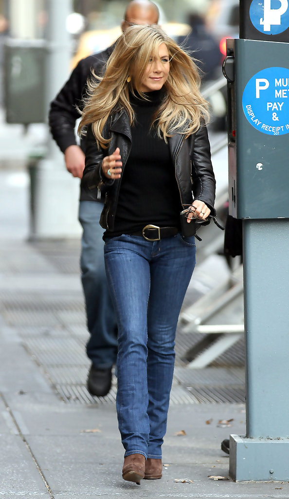 More pics of jennifer aniston leather jacket 8 of 8 Jennifer aniston fashion style pictures