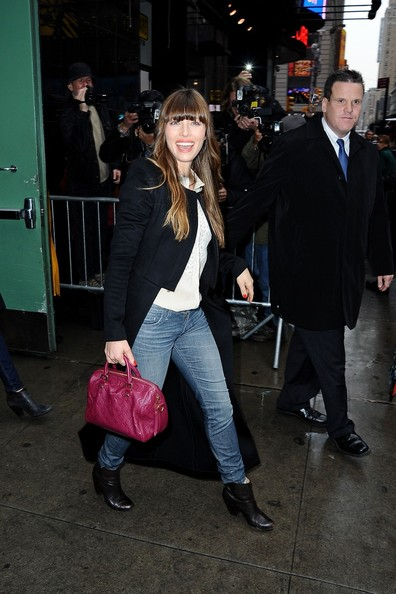 Jessica Biel Stops by 'Good Morning America'