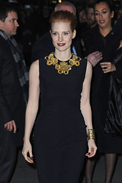Jessica Chastain at the National Board of Review Awards Gala