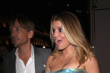 Jessica Simpson Ken Paves Jessica Simpson at Henry Cipriani Restaurant