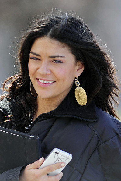 Jessica Szohr Gold Dangle Earrings
