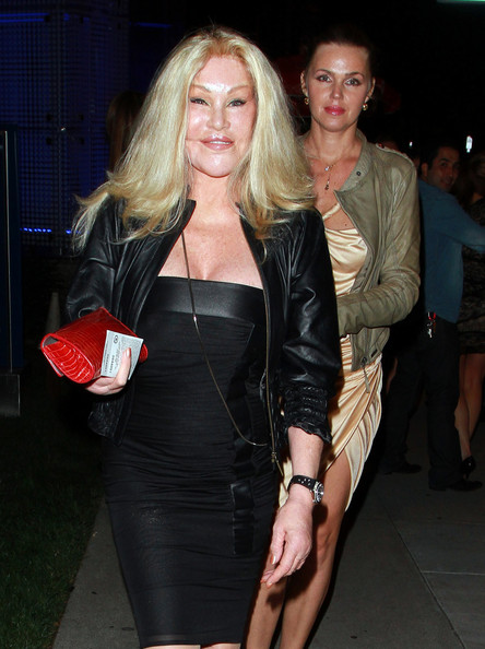 Jocelyn Wildenstein Little Black Dress