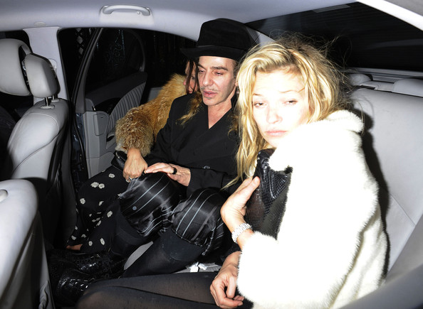 Kate Moss Leaves The Box Nightclub