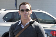 Jonathan Rhys Meyers Aviator Sunglasses