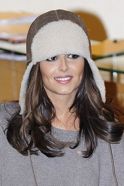 More Pics of Cheryl Cole Earflap Wool Cap (1 of 6) - Earflap Wool Cap Lookbook - StyleBistro