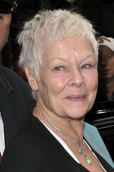 Judi Dench Messy Cut []