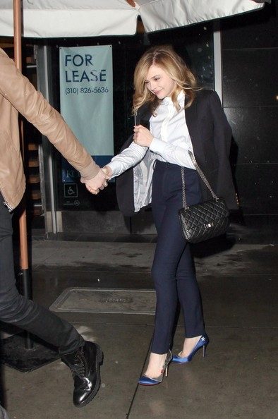 More Pics of Chloe Grace Moretz Pumps (1 of 7) - Chloe Grace Moretz Lookbook - StyleBistro