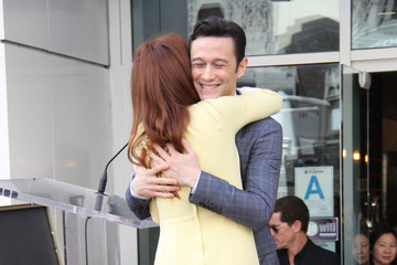 Julianne Moore Joseph Gordon-Levitt Julianne Moore Honored on Walk of Fame