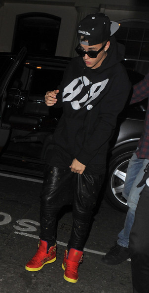 Justin Bieber Basketball Sneakers