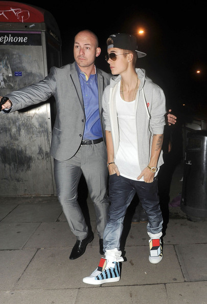 Celebs Attend a Justin Timberlake Concert in London