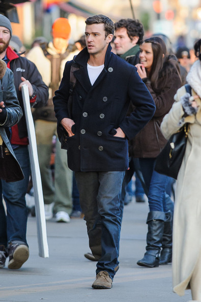 Justin Timberlake Shoots 'The Runner'