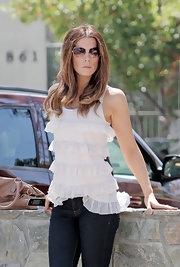 Kate Beckinsale showed off her aviator shades while out and about.