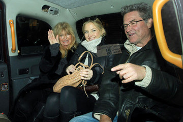 Kate Hudson Kurt Russell Kate Hudson and Parents in London