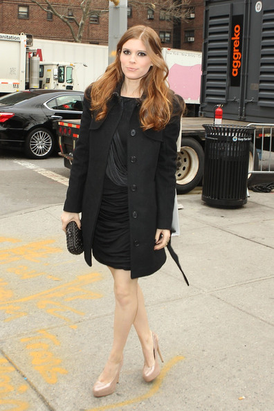 Kate Mara Wool Coat