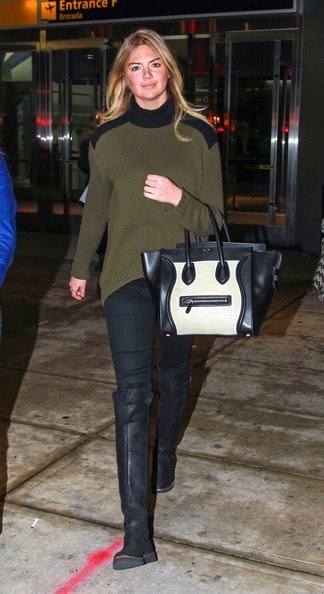 Kate Upton Arrives in NYC