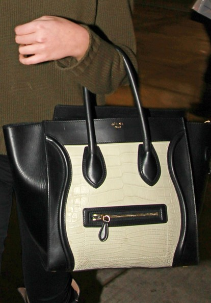 Kate Upton Leather Tote
