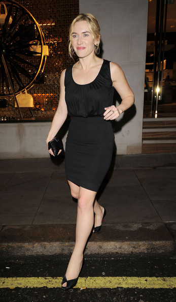 Kate Winslet Little Black Dress