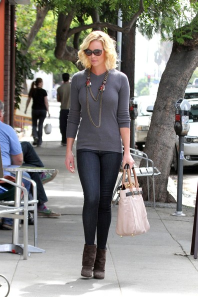 Katherine Heigl Crewneck Sweater