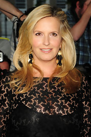 Penny Lancaster wore her hair down at the Glamour Women of the Year Awards.