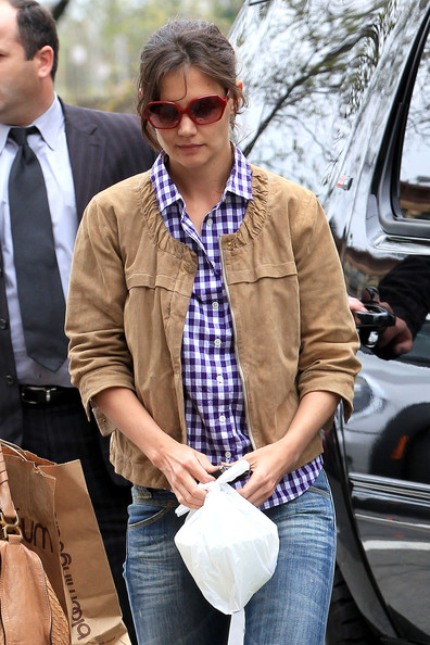 Katie Holmes Square Sunglasses