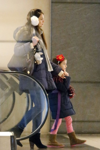 Katie Holmes and Suri Cruise in NYC
