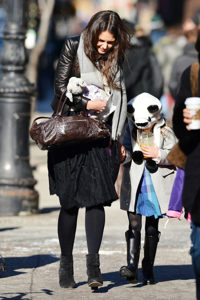 Katie Holmes and Suri Out and About 2